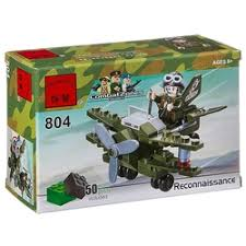 «Конструктор <b>Enlighten</b> Brick CombatZones Военный вертолет ...
