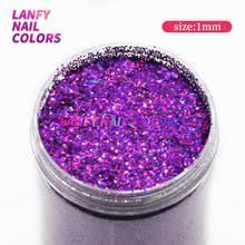 YCA4304 блестящая фиолетовая Лазерная <b>голографическая</b> ...
