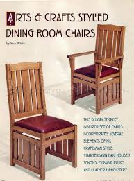 Dining Room Furniture Plans 1276 Dining Room Chairs Plans O Woodarchivist