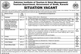 institute of tourism hotel management karachi jobs institute of tourism hotel management karachi jobs opportunity