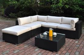 patio couch set  lizp pc outdoor patio sectional set p