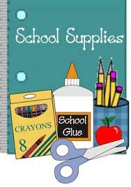 Image result for clipart of school supplies