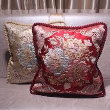 CURCYA Decorative Pillow Cushion Covers <b>45x45cm</b> Vintage Sofa ...