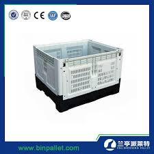 China Heavy Duty <b>Collapsible Plastic Storage</b> Bins with Lids - China ...