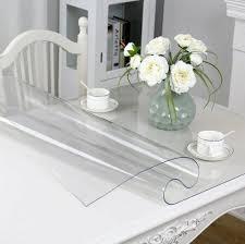<b>Скатерть на стол Vivacase</b> Прямоугольная гибкое стекло ПВХ ...