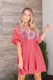 LENA <b>BOHEMIAN</b> MIXED <b>PRINT</b> MINI DRESS – Miss Match Group ...