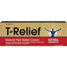 <b>T</b>-<b>Relief</b> Extra Strength Natural <b>Pain Relief Cream</b>, 3 OZ (with Photos ...