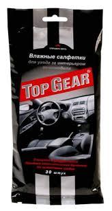 <b>Влажные салфетки</b> для автомобиля <b>Top Gear</b> - купить <b>влажную</b> ...
