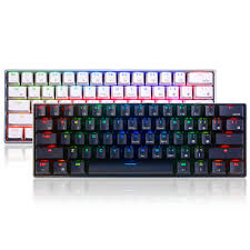 Royal Kludge <b>RK61</b> 61 <b>Keys Mechanical Gaming Keyboard</b> ...
