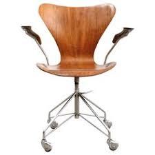 teak sevener office chair by arne jacobsen arne jacobsen office chair