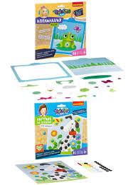<b>Аппликация</b> Лягушка и Картина из пуговиц для малышей ...