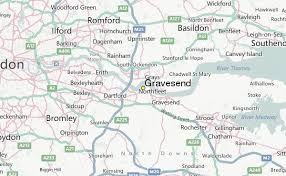 Image result for map of gravesend kent