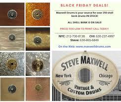 Steve Maxwell <b>Vintage</b> and <b>Custom</b> Drums