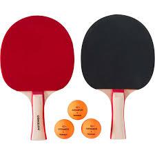 <b>набор из 2</b> ракеток для игры в настольный теннис ppr 130