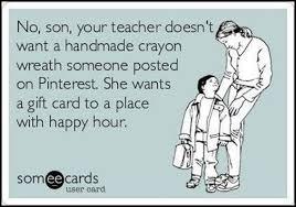Teacher Appreciation Week. Imagine the gift cards when @Meredith ...