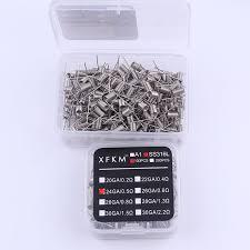 <b>XFKM</b> 100/200 pcs <b>electronic cigarette</b> rda atomizer wick wire coil ...