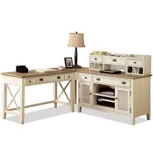 La Rana Furniture Bedroom Riverside Furniture Coventry Two Tone Corner Writing Desk