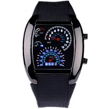 <b>2017 Hot sale Fashion</b> Men's Sport rpm turbo Blue Flash Car LED ...