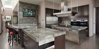 countertops granite marble: mitred edge along a radius for a bold look