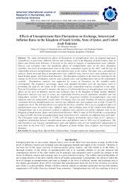 research paper effects of unemployment rate fluctuations on research paper effects of unemployment rate fluctuations on exchange interest and inflation rates in the kingdom of saudi arabia state of qatar