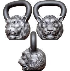 """<b>Гири</b> : <b>Гиря дизайнерская</b> """"Лев"""", 16 кг, <b>Iron</b> Head"""