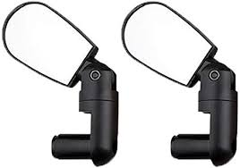<b>A Pair</b> of Bicycle <b>Rearview</b> Mirrors, MTB Handlebar End Cycling ...