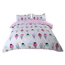 Sookie 3Pcs Cartoon Ice Cream Bedding (No ... - Amazon.com