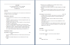 Sales Associate Resume Clothing Store Resume Badak