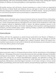 greystone park psychiatric hospital apa accredited clinical previous colloquia have included a rorschach seminar a wais iv seminar and case
