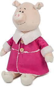 """<b>Мягкая игрушка</b> Maxitoys Luxury """"Свинка Глаша в дубленке"""", MT ..."""
