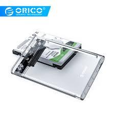 <b>ORICO 2.5</b> USB 3 External Hard Drive Enclosure Casing for <b>2.5 inch</b> ...