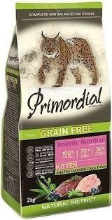 <b>Сухой корм Primordial Grain</b> Free Cat Kitten беззерновой для котят