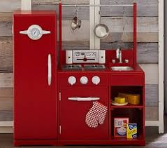 kitchen set fashioned retro kid
