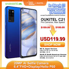 <b>OUKITEL C21 Helio P60</b> Quad Camera 20MP Selfie 6.4'' FHD+ Hole ...
