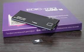 Цифровой <b>диктофон Edic</b>-<b>mini Card 16 A95</b> - n/a