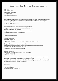 bus driver resume in s driver lewesmr