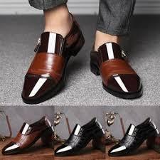 Business Dress Shoes Pointed Head Men Shoes A Pedal ... - Vova