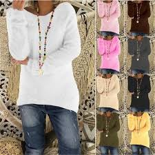 10 Colors Women's <b>Fashion Autumn</b> and Winter Long Sleeve ...