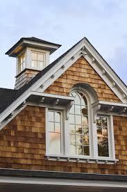 england style steps: cupola on a new england shingle style home
