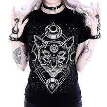 black <b>punk shirt</b>