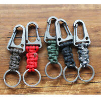 <b>EDC Stainless Steel</b> Carabiner Key Chain Clip Hook Buckle ...
