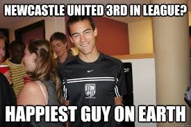 NewCastle United 3rd in League? Happiest guy on earth - Alex Lou ... via Relatably.com