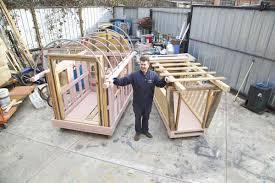 homeless shelter micro houses 004 artist creates mobile homes