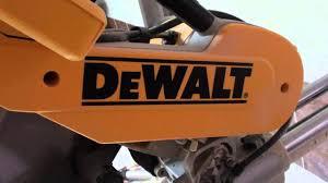 <b>DEWALT</b> DWS780 <b>торцовочная пила</b>. - YouTube