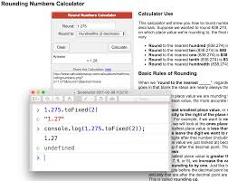javascript reliable js rounding numbers tofixed of a  enter image description here middot javascript rounding tofixed