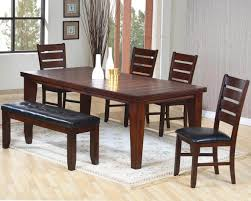 delivery dorset natural real oak dining set:   am solid dark dining room table with chairs and bench