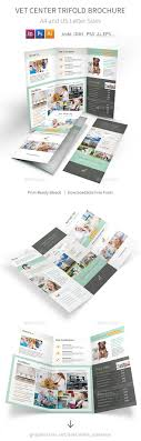 vet center trifold brochure by mike pantone graphicriver vet center trifold brochure informational brochures