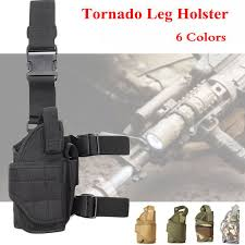 <b>Tactical Tornado Leg</b> Holster Adjustable <b>Nylon Thigh</b> Holster Fit For ...