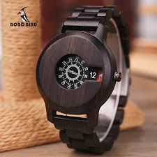 Relogio Masculino <b>BOBO BIRD Men Watch</b> Wooden Luxury Brand ...