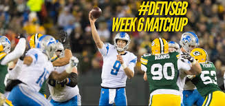 Lions vs Packers: Week 6 Matchup